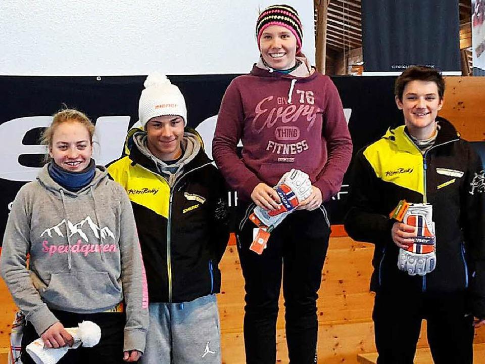 Erfolgreiche Formsuche beim  Schülerer...us, Alina Bohnert und Marco Behringer   | Foto: Siegmund
