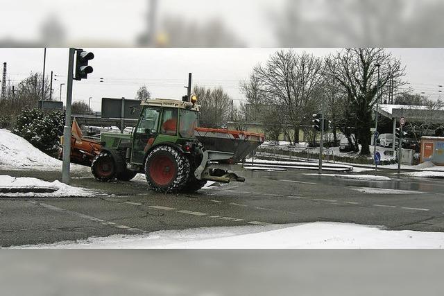 Wenn's schneit, sind sie unterwegs