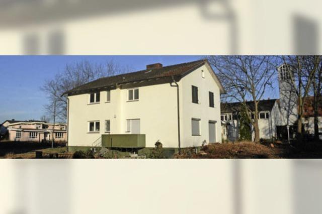 Pfarrhaus macht Platz für Wohnhäuser