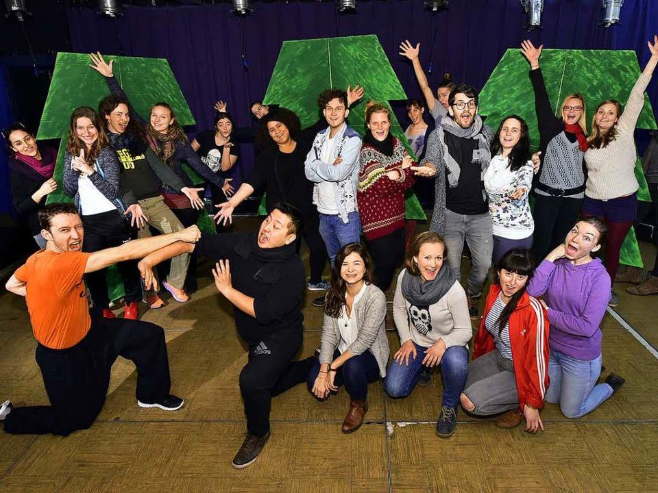 Das Team des Mondo-Musicals.  | Foto: Thomas Kunz