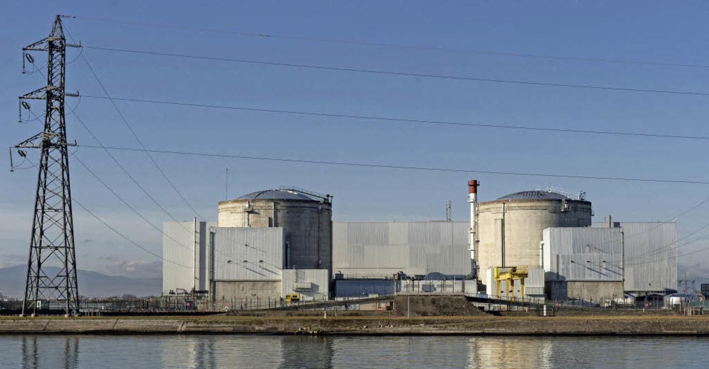 Das französische Atomkraft bei Fessenheim   | Foto: dpa