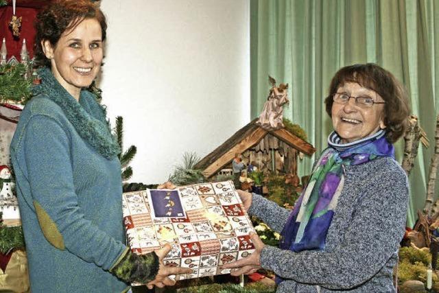 Mehr als 1000 Päckchen gab es für Senioren