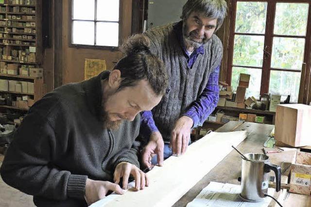 Schon Urgroßvater und Großvater bauten Orgeln
