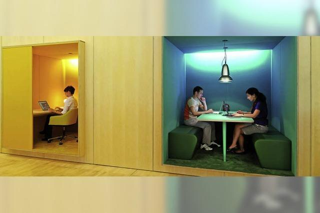 Wie sehen die Büros der Zukunft aus?
