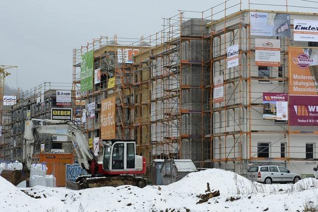 1650 neue Wohnungen in Freiburg genehmigt
