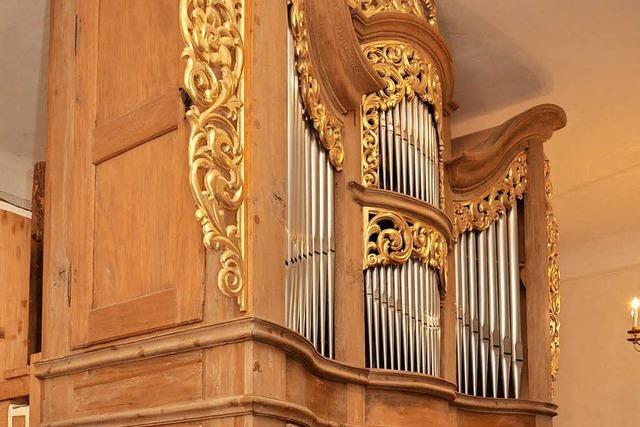 Roman Herzog hat die Niederrotweiler Orgel gerettet