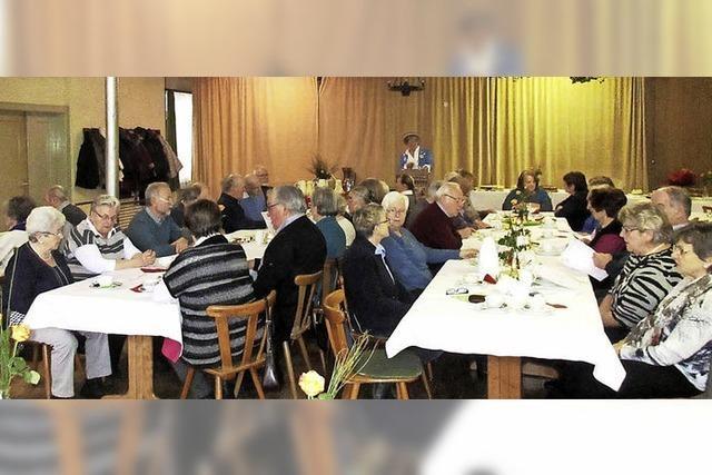Frauenbund sorgt für beste Unterhaltung der Senioren