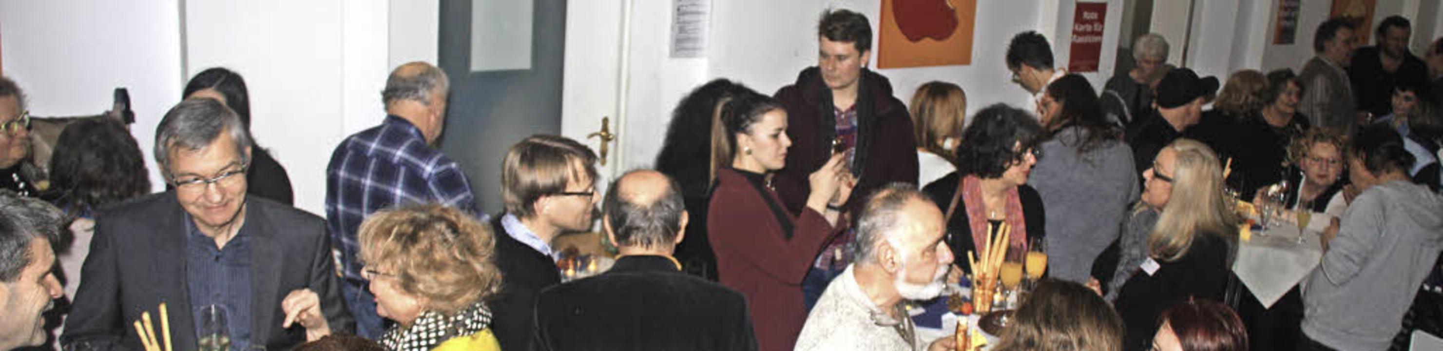 Der Wandel, in dem sich Friedlingen be...Neujahrsempfang des Stadtteilvereins.   | Foto: Siemann