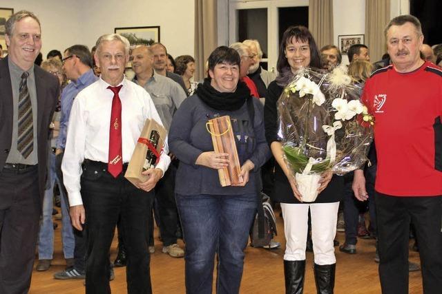 Kleines Dorf ehrt den Deutschen Meister