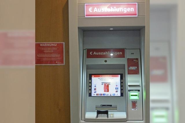 Geld aus dem Automat