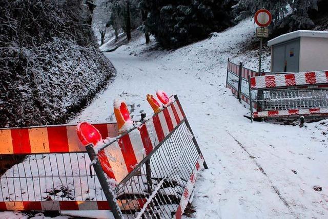 Kritik an Bauarbeiten im Hohlweg Kahlenberggasse