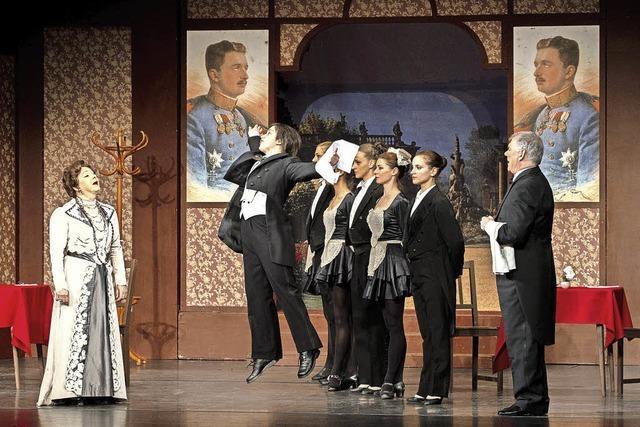 Die Wiener Operettenbühne zeigt im Burghof