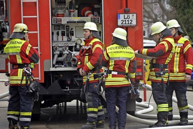 Feuerwehr setzt auf rasche Lösung
