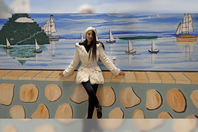 Mona Omar verschönert GU-Wände