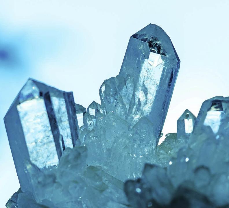 Glitzernde Pracht: ein Bergkristall  | Foto: seraph (photocase.de)