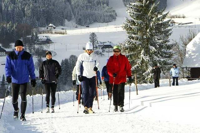 Drei Winterwandertouren rund um Freiburg
