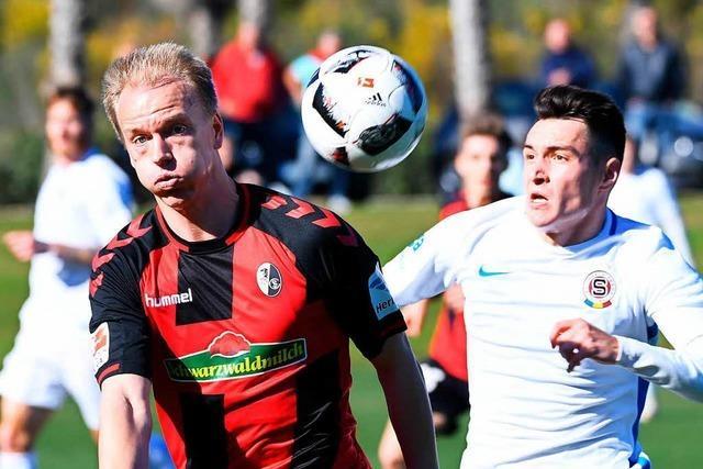 SC Freiburg und Sparta Prag trennen sich torlos