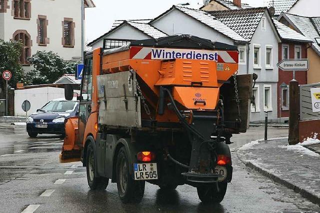 Winterdienst in Lahr: Ab 4 Uhr morgens einsatzbereit