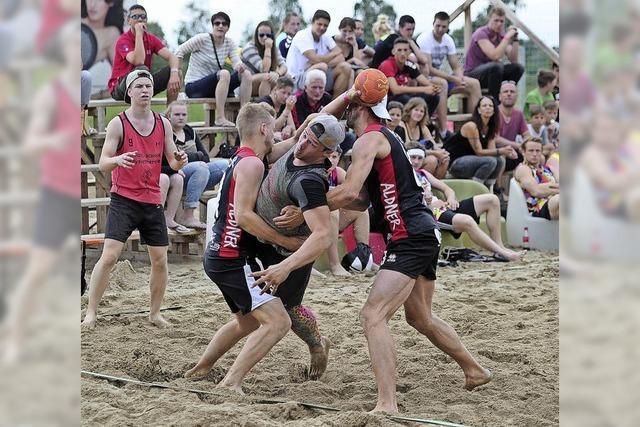 Ein starker Schub für das Spiel im Sand