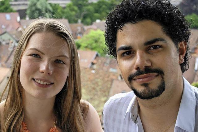 Elisabeth Baureithel und Dario Rago