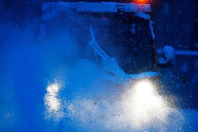 Experten warnen vor Orkanböen und Schneeverwehungen