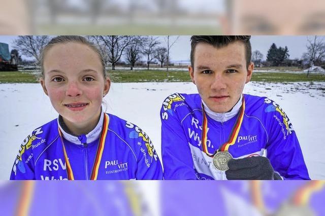 Bronze für Wyhler Nachwuchs bei Radcross-DM