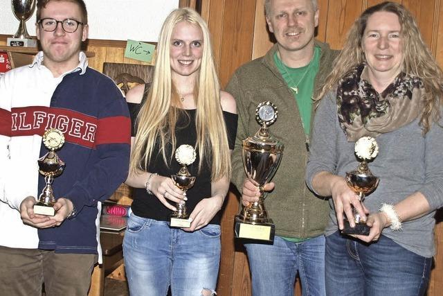 Heike und Andreas Isele holen sich den Sieg