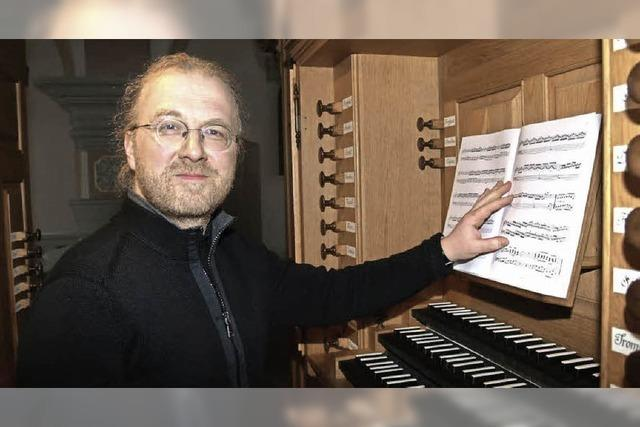 Roman Laub: Orgelmusik zur Marktzeit