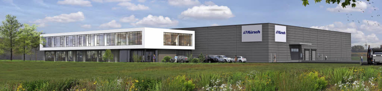 So sieht der Entwurf für den Kirsch-Ne...ay in Willstätt-Sand errichtet wurde.   | Foto: Entwurf/Foto: Seebacher & Braun/Burgmaier
