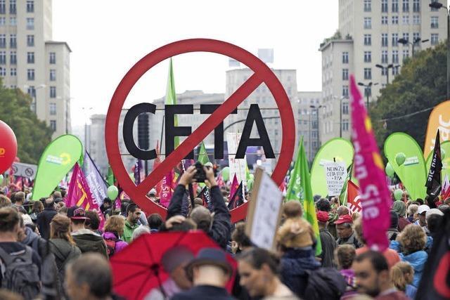 Kläger gegen Ceta scheitern erneut