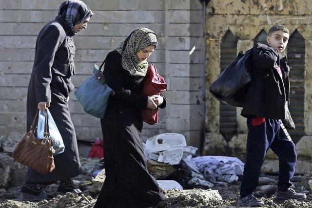 Irakische Truppen rücken in Mossul vor