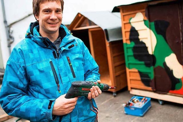 Kölner will Obdachlosen mit Wohnboxen helfen