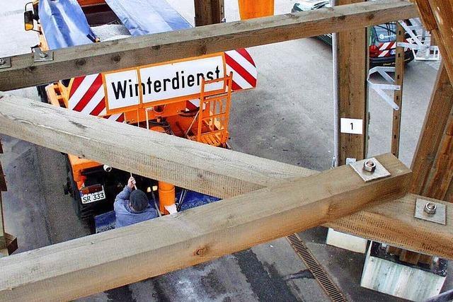 So funktioniert der Winterdienst in Freiburg