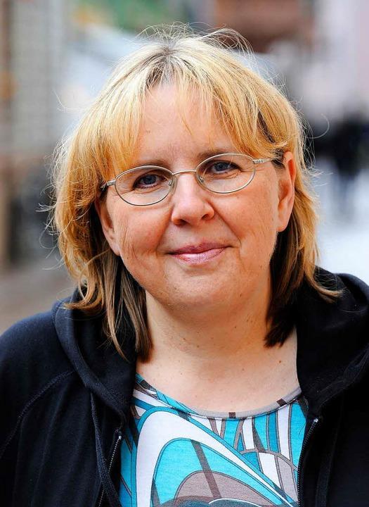 Gabriele Weber, Vorsitzende beim Verein Café Palestine  | Foto: Ingo Schneider