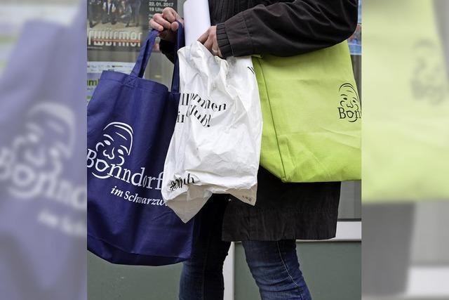 Handels- und Gewerbeverein will Stofftragetaschen mit eigenem Logo an die Kunden bringen