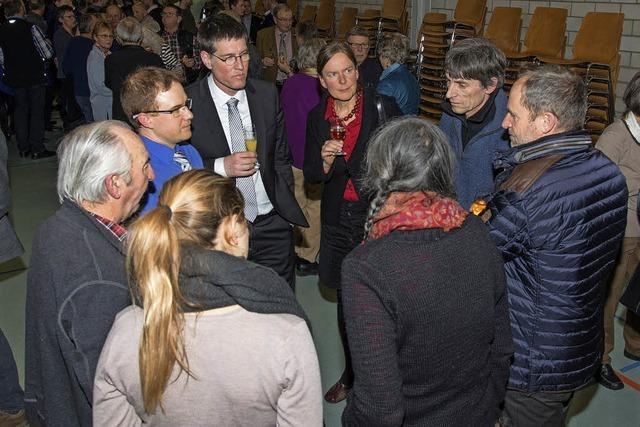 Interessanter Gastvortrag zu Wilden Weiden bei Neujahrsempfang der Gemeinde