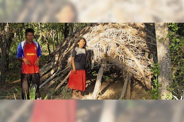 Hilfe aus dem Rebland für die Nomaden im Buschwald