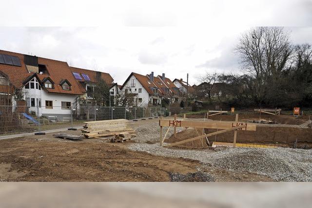 Anwohner wollen Baustopp erreichen