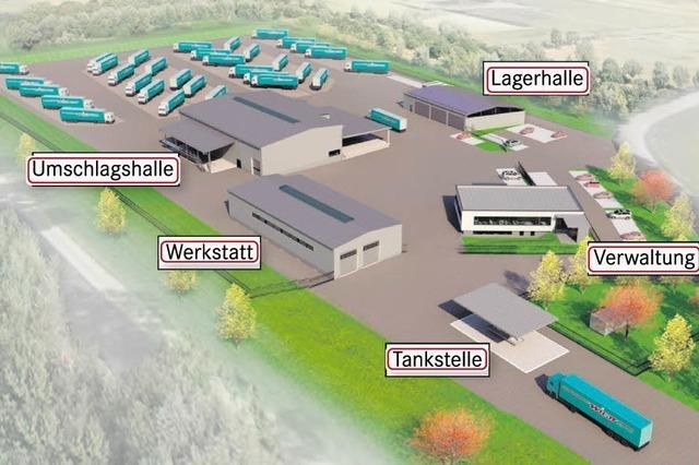 Spedition Wildt zieht um an den Industriepark Wolfsmatten