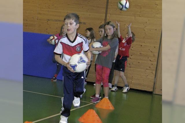 Fußball als gemeinsamer Sport für alle Kinder