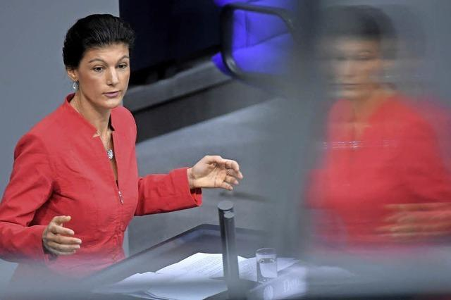 Sahra Wagenknecht - die linke Version von Horst Seehofer