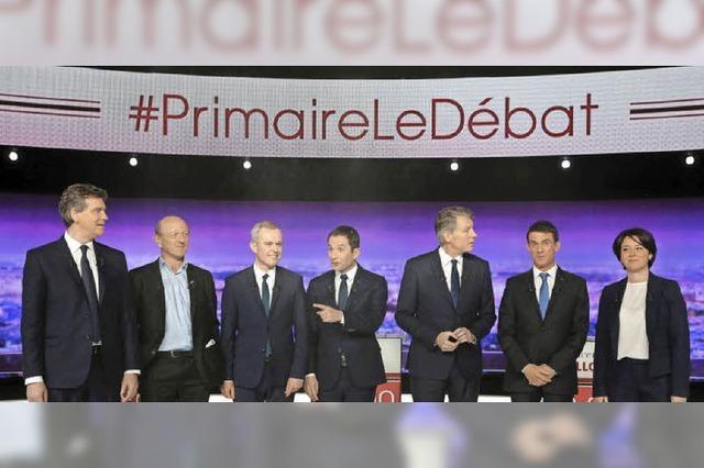 Sozialisten schicken sieben Kandidaten in die Vorwahl