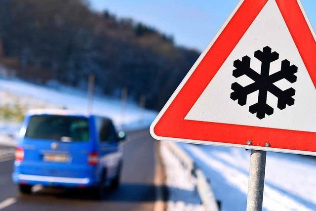 Der Winter hat den Südwesten im Griff und bringt Kälte