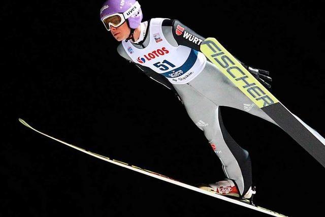 Andreas Wellinger springt in Wisla aufs Podest