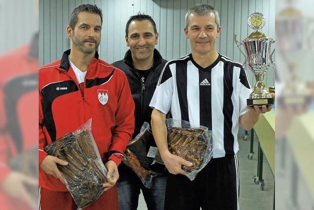 Alte Herren des SV 08 gewinnen ihr Heimturnier