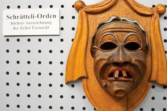 Fotos: Ausstellung zu 390 Jahre Zeller Fasnacht
