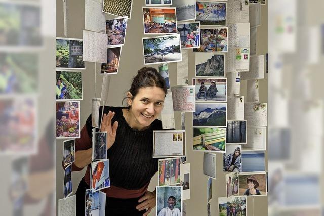 Fotografin Eva Rugel dokumentiert ihre Reisen mit eigenen Postkarten