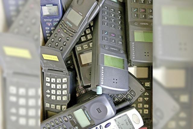 Alte Handys für guten Zweck