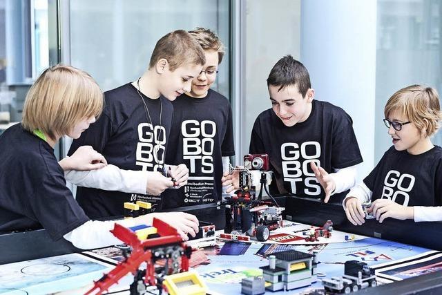 Kampf um Einzug ins Roboter-Finale