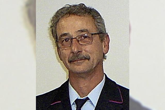 Martin Zimmermann seit 40 Jahren bei der Wehr